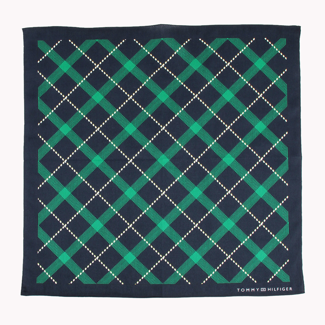 TATTERSALL CHECK HANDKERCHIEF