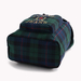 Plaid Crest Backpack