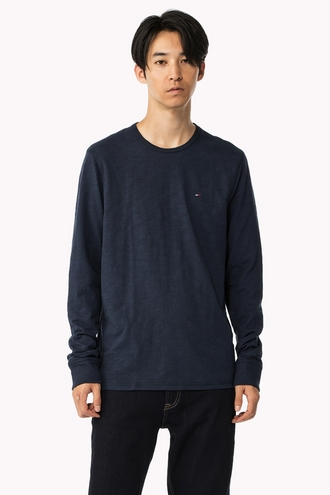 BASIC CREW-NECK KNIT PULLOVER
