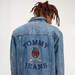 Crest Logo Denim Jacket