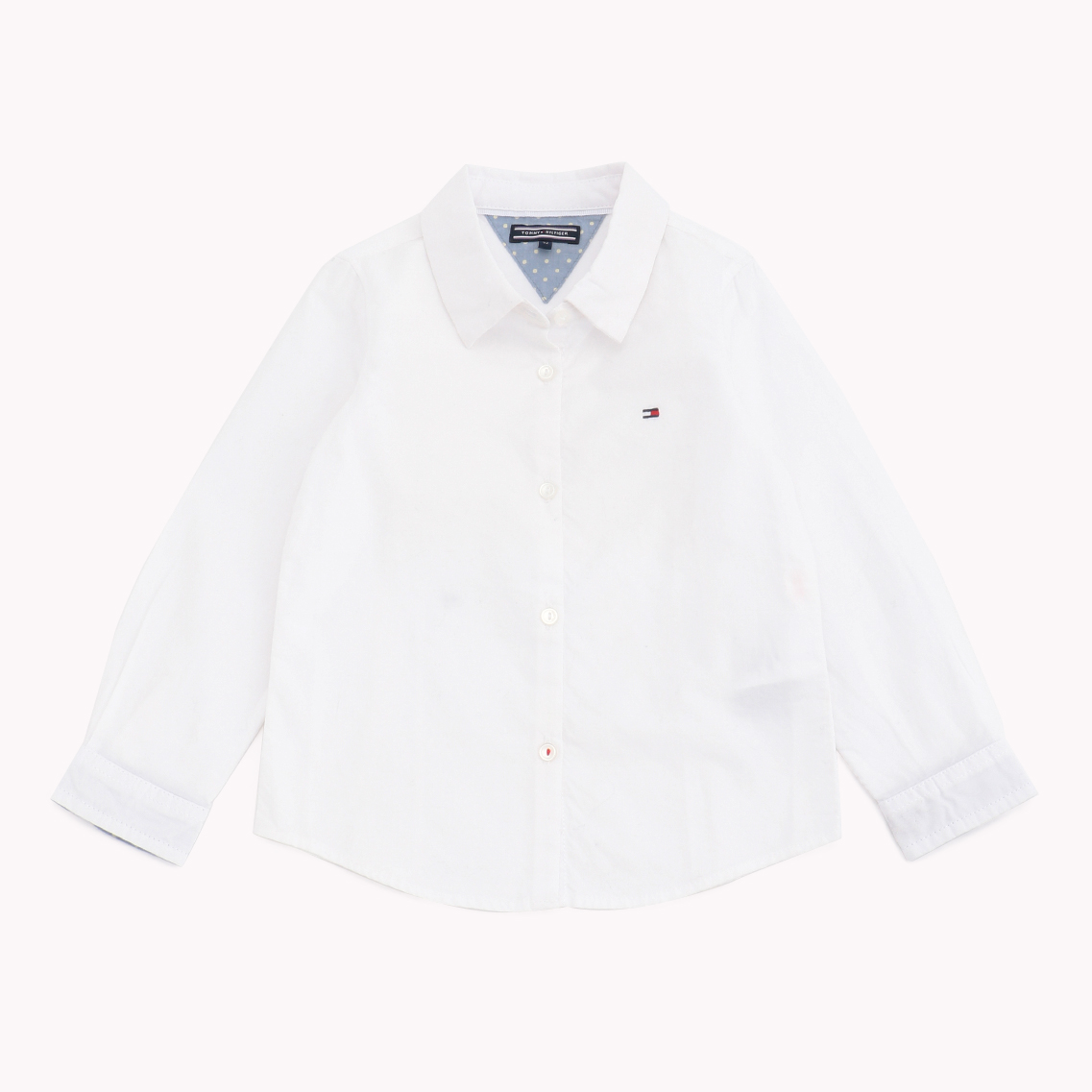 NEW GIRLS OXFORD MINI SHIRT L/