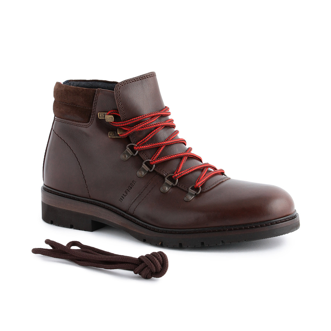 LEATHER TREKKING BOOTS