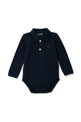 BABY BASIC POLO BODY L/S