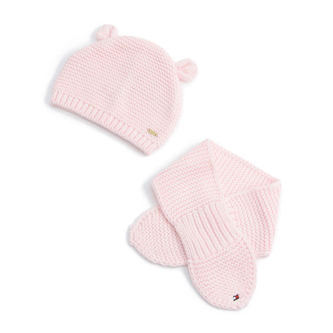 HAT AND SCARF BABY GIRL SET
