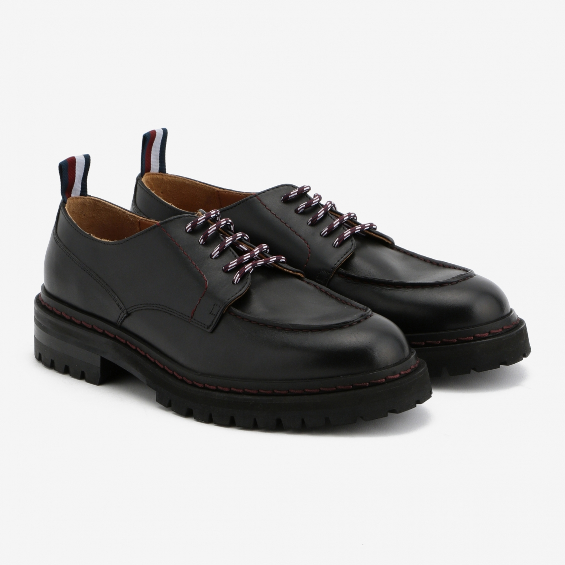 HC CLEATED SOLE LACE-UP SHOES