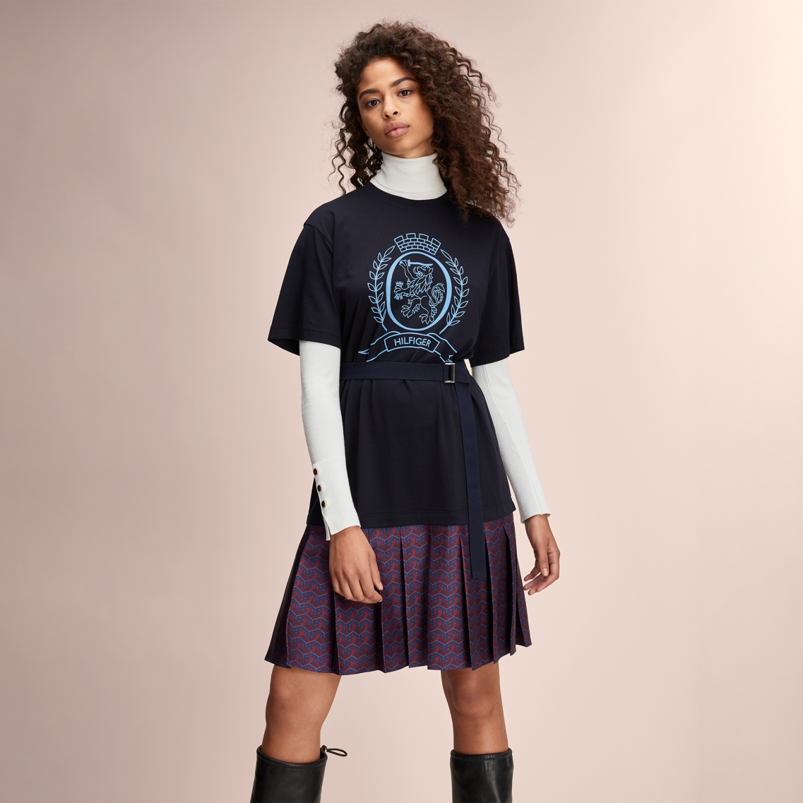 HCW MONOGRAM TSHIRT DRESS