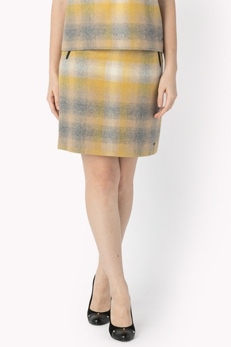 FLANNEL PICNIC CHECK SKIRT
