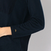 BI-FABRIC POCKET PULLOVER