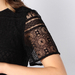LACE SAC-DRESS