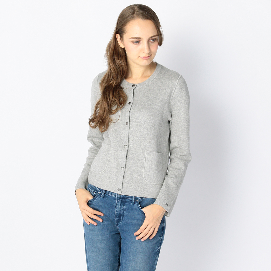 REVERSIBLE NO-COLLAR JACKET