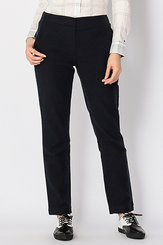 RAYON COTTON MOLESKIN PANTS