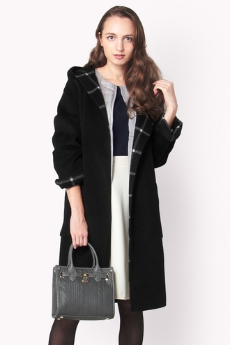 WOOL WRAPPED COAT