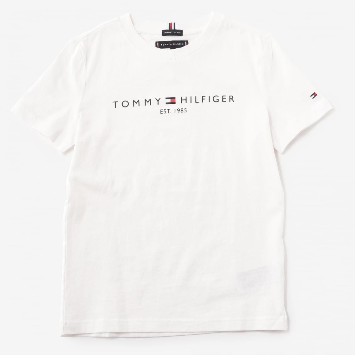 Tommy Hilfiger Boys Sticker Print Tee S//S T-Shirt